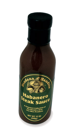 Habanero Steak Sauce