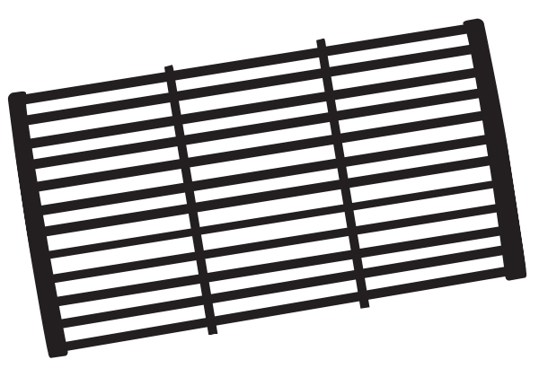 Porcelain Cast Iron Cooking Grid