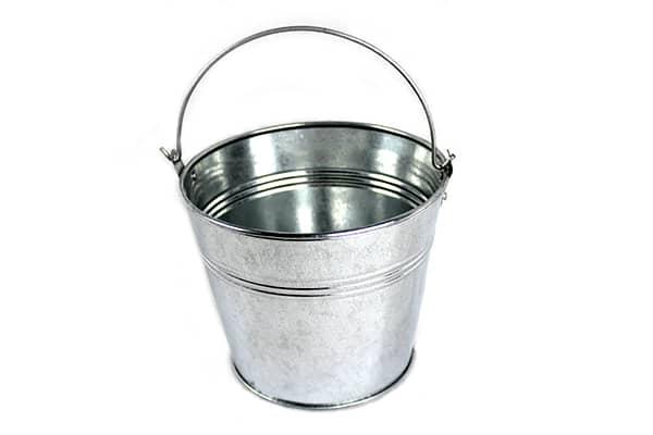 SDGB Tray Valve Galvanized Bucket