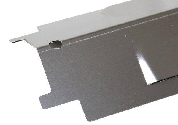 CBHP11 Heat Plate showing corner