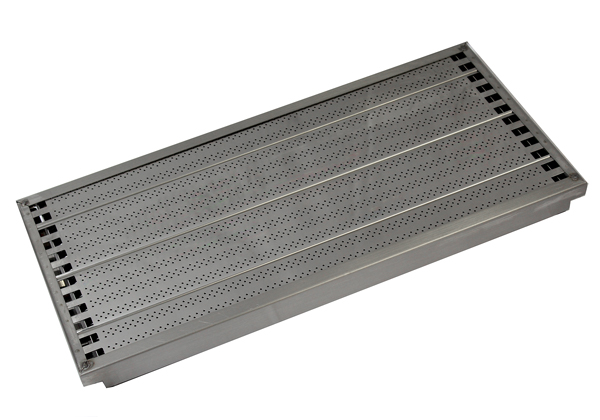 CG90SET Cooking Grid shown in housing tray