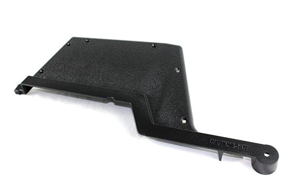GGTECL Left Black Cast Aluminum End Cap