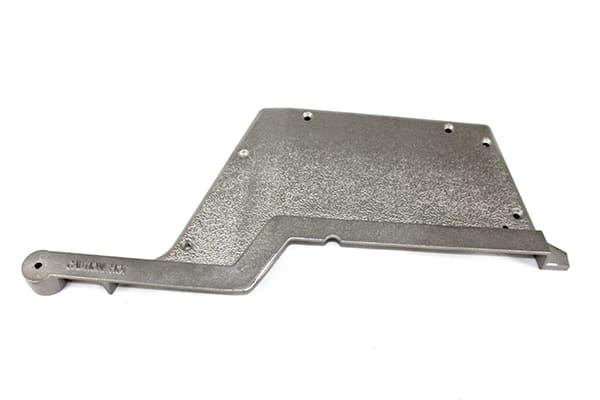 GGTECRS Right Silver Cast Aluminum End Cap