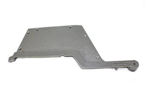 GGTECLS Left Silver Cast Aluminum End Cap