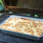 Apple Dump Cake Made on the Grill