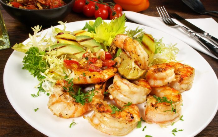 Grilled Barbecue Shrimp