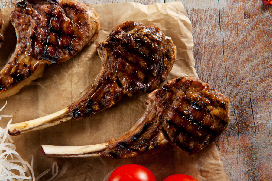 Flavor Master Grilled Lamb Chops