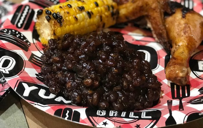 Smoked Bourban Baked beans