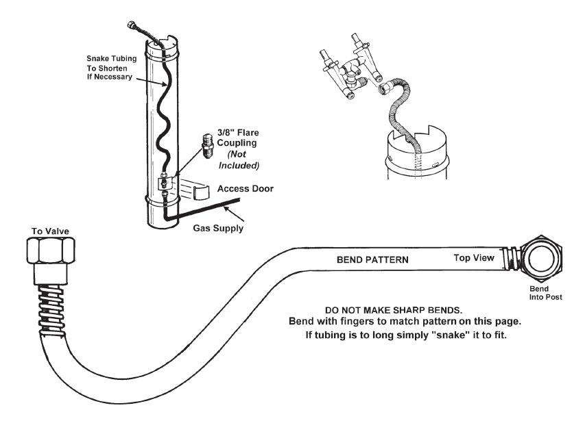 Proper bending of stainless steel tubing