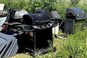 Grills found in landfills