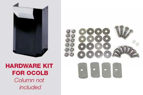 GGKIT8 Hardware Kit for MHP OCOLB Column